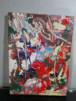 original authentic abstract 1 of a kind  painting by musk yai ~~~~~~~~~~~~~~~~~~