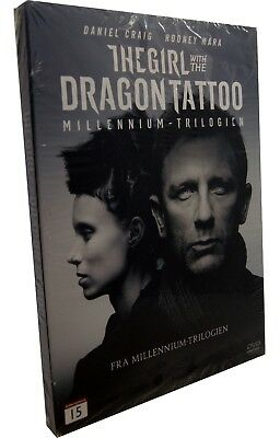 The Girl With The Dragon Tattoo DVD (Daniel Craig) New & Sealed