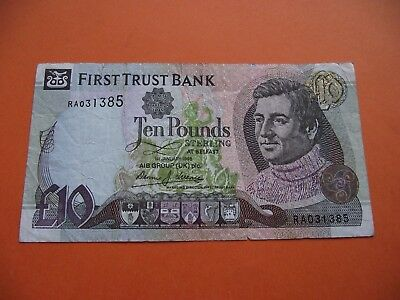 Irland (N. Ireland). First Trust Bank. £10 Pfund (Pounds) (1998)