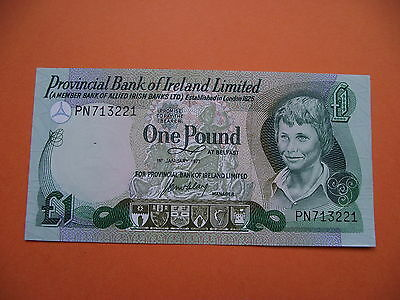 Irland. Provincial Bank Of Ireland Ltd. Unc £1 Pound Banknote (1977)