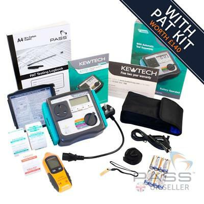 *NEW* Kewtech KT72 Manual Battery Powered PAT Tester + Accessory Kit worth £140!