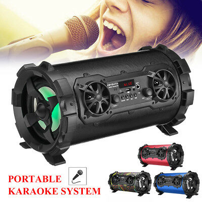 Portable Wireless Bluetooth Powerful Speaker HIFI Stereo Subwoofer 3D Surround