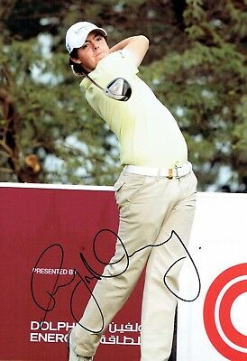 Rory McILROY SIGNED AUTOGRAPH 12x8 Photo 1 AFTAL COA European Golf Ryder Cup