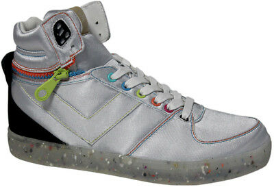 Pony Splitup Dee and Ricky Trainers - Silver