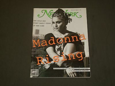 1991 October 14 New York Magazine - Madonna - B 2045