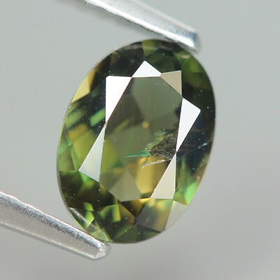 Pretty 1.15 Ct Natural Unheated Greenish Yellow KORNERUPINE Oval Gem @ See Video