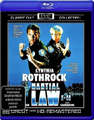 Martial Law 1&2 (1990-91) BLU-RAY Uncut Import BRAND NEW - USA Compatible