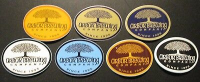 RIVER ROUGE BREWING Michigan circle black STICKER decal craft beer brewery
