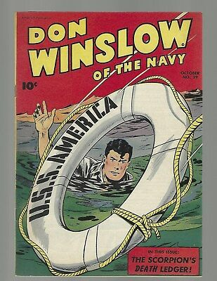 Don Winslow Of The Navy #39 U.S.S. America