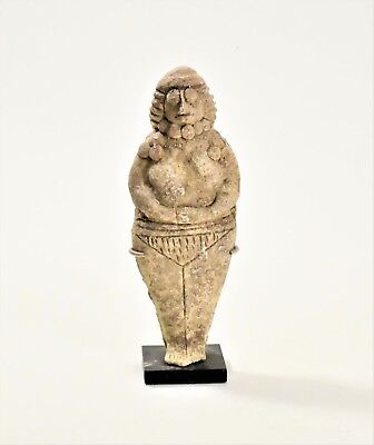 A Near Eastern Terra-cotta Figure of a Worshipper, ca. 1500-1200 B.C.
