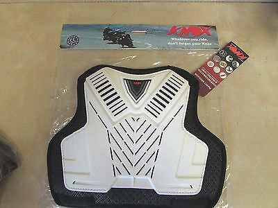 Knoxx - Ce Armor Sport Chest Pad - Mens One Size - Can Be Added Tops / Shirts