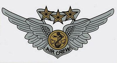 Marine Combat Aircrew Wing Decal