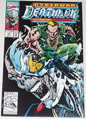 Deathlok #17 from Nov 1992 VF- to VF+