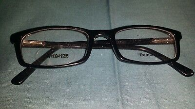 Rochester Optical Romco-5A Black Eyeglass Frame Spectacle 48 18 135 Optometry