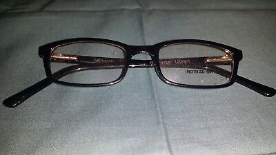 Rochester Optical Romco-5A Black Eyeglass Frame Spectacle 48 20 150 Optometry