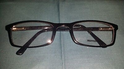 Rochester Optical Romco-5A Black Eyeglass Frame Spectacle 52 22 135 Optometry