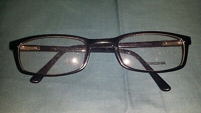 Rochester Optical Romco-5A Black Eyeglass Frame Spectacle 54 24 140 Optometry