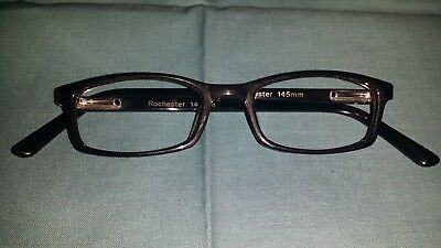 Rochester Optical Romco-5A Black Eyeglass Frame Spectacle 46 18 145 Optometry