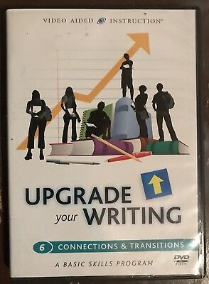 Upgrade Your Writing: 6. Connections And Transitions (DVD)  (19E)