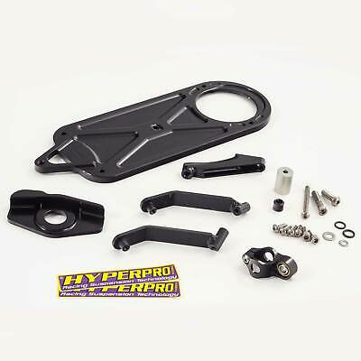 Hyperpro Black Steering Damper Fitting Kit For Yamaha YZF-R6 06> MK-YA06-T005-B