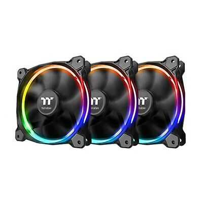 Thermaltake Riing 12 LED RGB Radiator Case Fan Sync Edition 3-Fan Pack