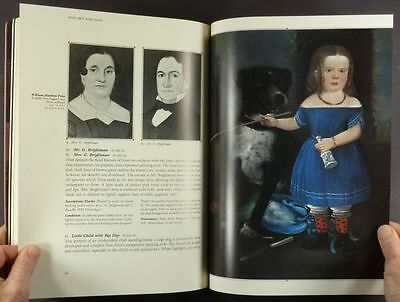 Book: Antique American Folk Portraits @ the NY State Historical Association