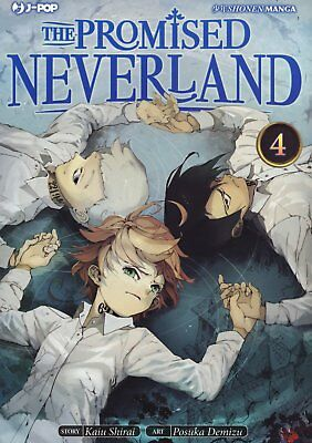 The Promised Neverland N° 4 - Edizioni BD - Jpop - ITALIANO NUOVO #NSF3