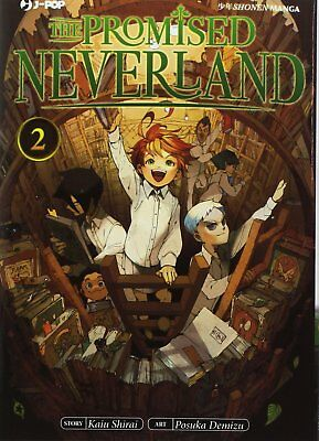 The Promised Neverland N° 2 - Edizioni BD - Jpop - ITALIANO NUOVO #NSF3
