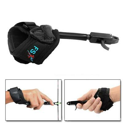 Archery Caliper Release Trigger Wrist Strap for Compound Bow Hunting SY#45
