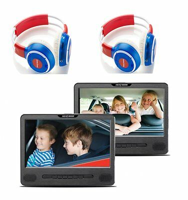 NEXTBASE CAR Series Car 9 Dual DVD Players with Headphones - Grade A