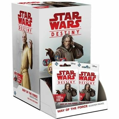 Star Wars Destiny - Way of the Force Booster Box Sealed 36ct WoF WotF New