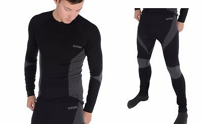 OXFORD All Year Thermal Motorcycle Top & Bottom Base Layer Set- base layers