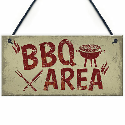 Garden Plaque BBQ Area Bar Home Sign Man Cave Shed Signs Home Friendship Gift