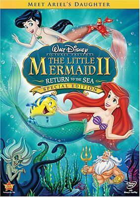 The Little Mermaid II: Return to the Sea (DVD, 2008, Special Edition)