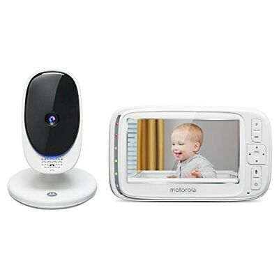 Motorola Comfort 50 Digital Video Audio Baby Monitor with 5 Inch Color Screen
