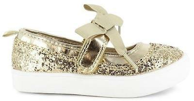 Toddler Girl/'s Carter/'s Shine 2  Mary Jane Shoes CF171012 NEW Silver 191P tm