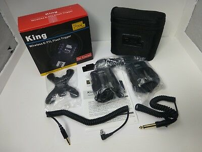 King Pixel Wireless E-TTL Flash Trigger For Canon