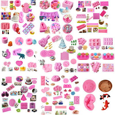 Silikon Fondantform Kuchen Dekor Schokolade Sugarcraft Backen DIY Mold Tools