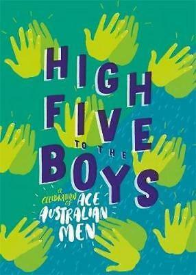 NEW High Five to the Boys By  Various Hardcover Free Shipping