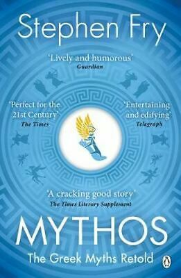 NEW Mythos By Stephen Fry Paperback Free Shipping