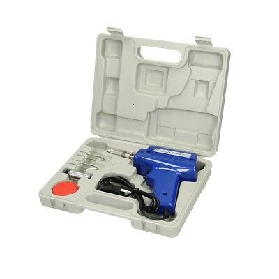 100W electric soldering gun iron kit 3 tips case solder wire solder gun set 6pcs