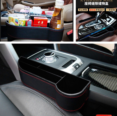 Car Seat Organizer Crevice Storage Box Cup Drink Holder Auto Gap Pocket Stowing