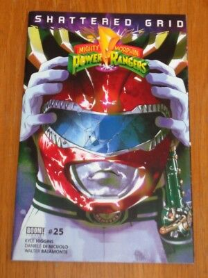 Mighty Morphin Power Rangers #25 Boom Red Helmet Variant March 2018 Nm (9.4)