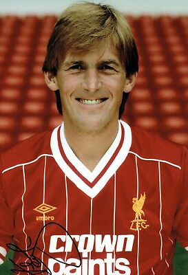 Kenny DALGLISH Signed 12x8 Photo AFTAL COA Autograph Liverpool FC Anfield Legend