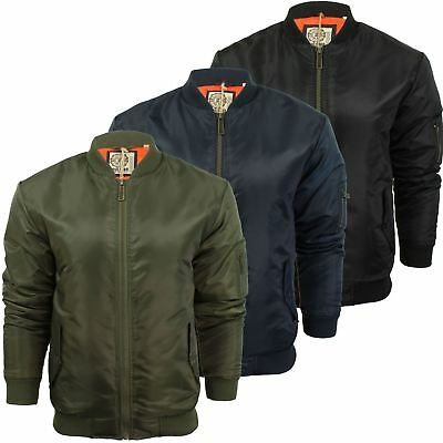 Mens MA1 Bomber Jacket by Soul Star