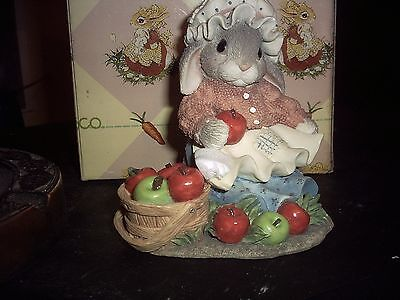 1997 MY BLUSHING BUNNIES-bountiful blessings WITH BOX