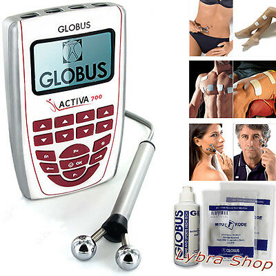 Globus ACTIVA 700 electrical stimulator with handpiece BEAUTY SPORT TENS REHAB
