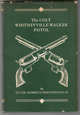 Colt Whitneyville-Walker Pistol Study Pistol & Characters 1846-1851 Whittington