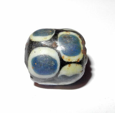 ROMAN to BYZANTINE - MULTI EYE GLASS BEAD Protection vs Evil - ca. 400 to 800 AD