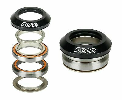 """NECO Bike CNC Full Integrated Headset 1-1/8"""" with 7.8mm Top 30mm Bottom"""